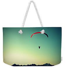 Paraglider Weekender Tote Bag
