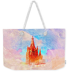 Weekender Tote Bag featuring the photograph Parish Of St. Michael The Archangel by John  Kolenberg