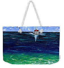 Peaceful Weekender Tote Bag