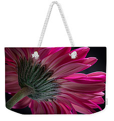 Pink Flower Weekender Tote Bag by Edgar Laureano