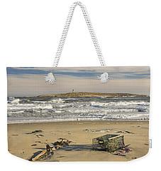 Popham Beach On The Maine Coast Weekender Tote Bag
