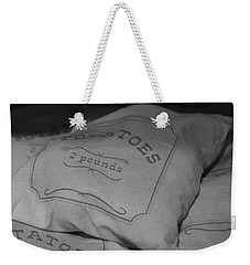 2 Pounds Of Potatoes Weekender Tote Bag by Holly Blunkall