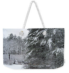 Powdered Sugar Weekender Tote Bag