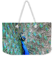 Weekender Tote Bag featuring the photograph Proud by Deena Stoddard