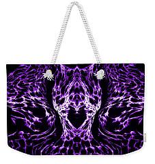 Purple Series 4 Weekender Tote Bag