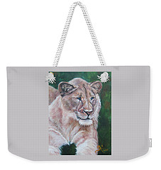 Queen Of The Beast,lioness Weekender Tote Bag