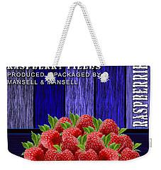 Raspberry Fields Weekender Tote Bag