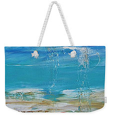 Weekender Tote Bag featuring the painting Reflections by Diana Bursztein