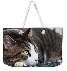 Weekender Tote Bag featuring the photograph Relax by Laura Melis