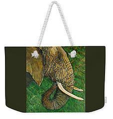 Respect Weekender Tote Bag by Debbie Chamberlin