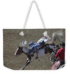 Ride Em Cowboy Weekender Tote Bag by Jeff Swan