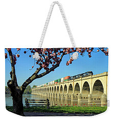 River Crossing Weekender Tote Bag