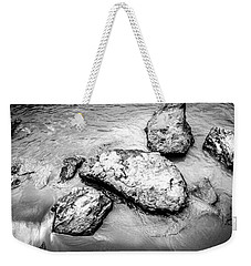 Rocks In The River Weekender Tote Bag