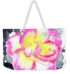 Rose 3 Weekender Tote Bag by Pamela Cooper