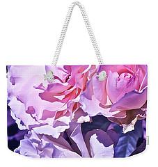 Rose 60 Weekender Tote Bag by Pamela Cooper