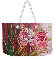 Roses Roses Weekender Tote Bag