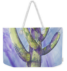 Saguaro In Winter Weekender Tote Bag