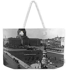 Weekender Tote Bag featuring the photograph San Francisco City Hall by Granger