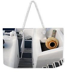 Santorini Steps Weekender Tote Bag