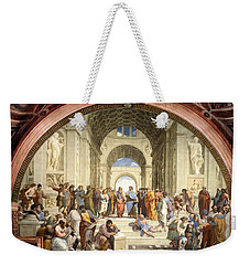 School Of Athens Weekender Tote Bag