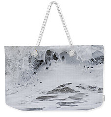 Seafoam Wave Weekender Tote Bag by Jani Freimann