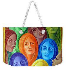 Serene Sisters Weekender Tote Bag