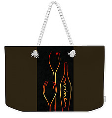 Simply Wine Weekender Tote Bag