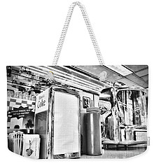 Sitting At The Counter Weekender Tote Bag