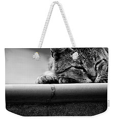 Sleeping Weekender Tote Bag