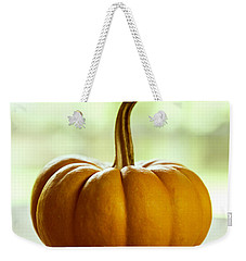Small Orange Pumpkin Weekender Tote Bag