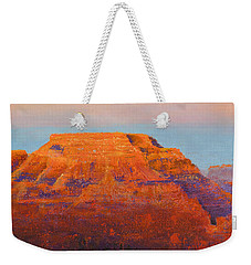 South Rim Sunset Weekender Tote Bag by Margaret Bobb