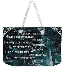 Spirits Of The Dead Weekender Tote Bag