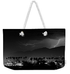 Weekender Tote Bag featuring the photograph Spring Storm    Santa Barbara by J L Woody Wooden