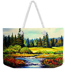 Springtime Weekender Tote Bag by Hazel Holland