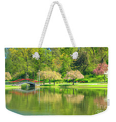 Springtime Reflections Weekender Tote Bag