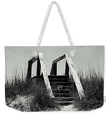 Weekender Tote Bag featuring the photograph Stairway To Heaven by Debra Forand