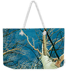 Weekender Tote Bag featuring the painting Standing Ovation 2 by Barbara Jewell
