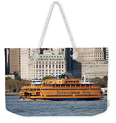 Staten Island Ferry Weekender Tote Bag by Rob Hans