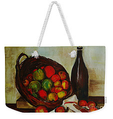 Still Life With Apples After Cezanne - Painting Weekender Tote Bag
