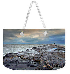 Storm Blowing Out Weekender Tote Bag