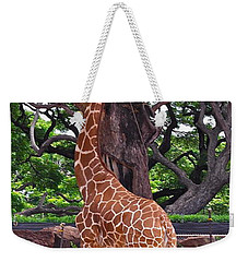 Stretching It Weekender Tote Bag by Michele Myers