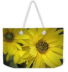 Sunflowers Weekender Tote Bag by Fran Gallogly