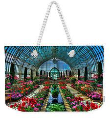 Sunken Garden Como Conservatory Weekender Tote Bag