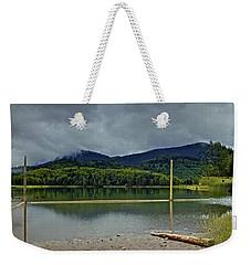 Sunny Beach Point Weekender Tote Bag