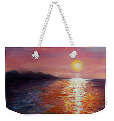 Sunset In Ixtapa Weekender Tote Bag