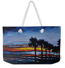 Sunset In St. Andrews Weekender Tote Bag