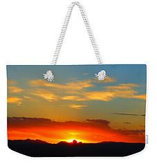 Sunset In The Desert Weekender Tote Bag