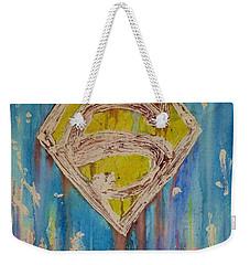 Superman's Shield Weekender Tote Bag