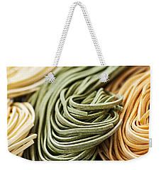 Tagliolini Pasta Weekender Tote Bag by Elena Elisseeva