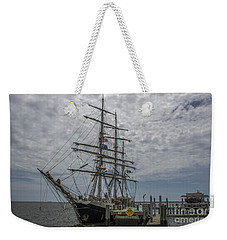 Tall Ship Gunilla Weekender Tote Bag by Dale Powell